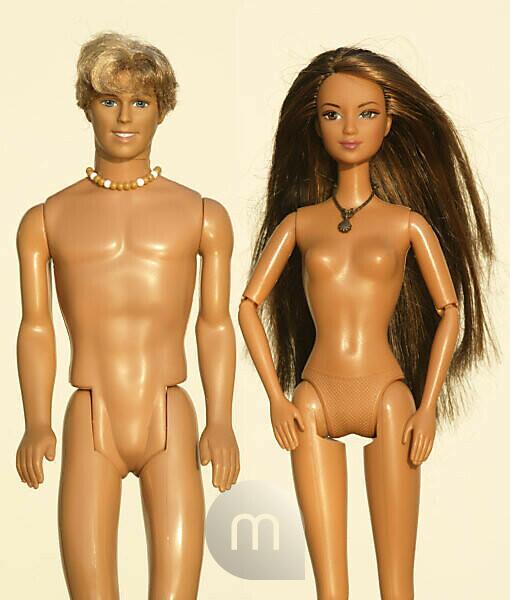 Barbie nackt