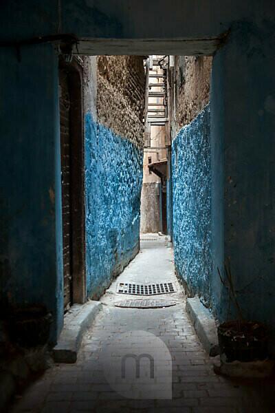 Marokko, Fez, Altstadt, Gasse, Detail,