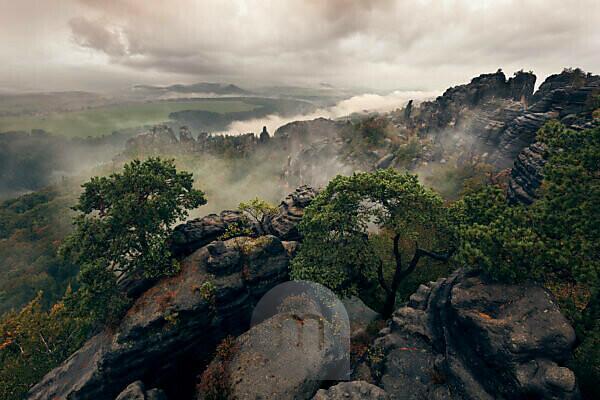 Schrammsteine (group of rocks) ??in Saxon Switzerland, Germany