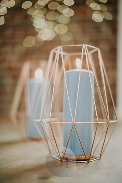 Decoration, candle holder, geometric,