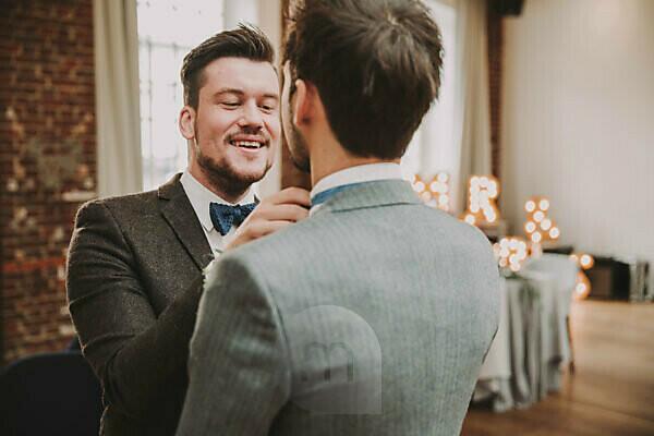 Wedding, groom, best man, bow tie, tie,
