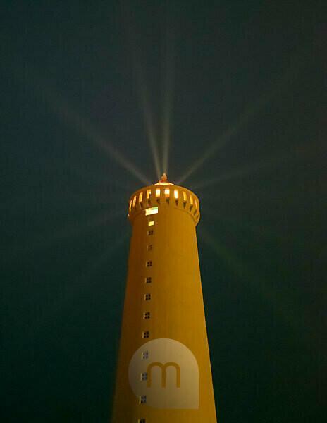 Iceland, Reykjanes Lighthouse near Gardur, Lighthouse