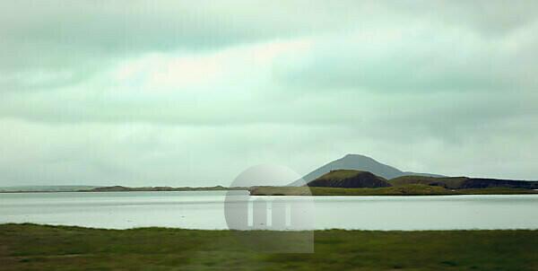 Myvatn, lake, Iceland, landscape