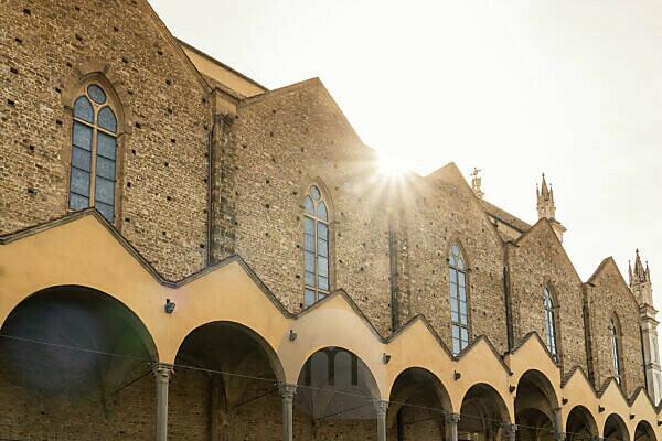 Florenz, Piazza und Basilika di Santa Croce