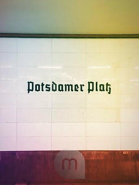 Deutschland, Berlin, Bahnhof Potsdamer Platz