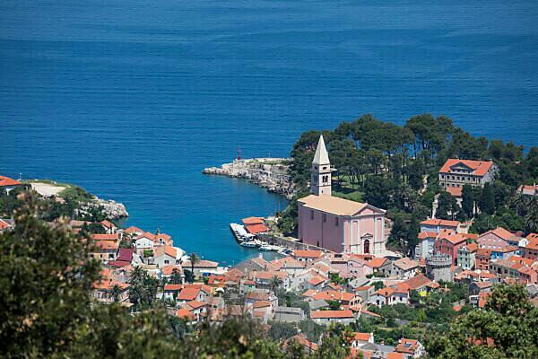 View of Veli Losinj, Losinj Island, Kvarner Bay, Croatia