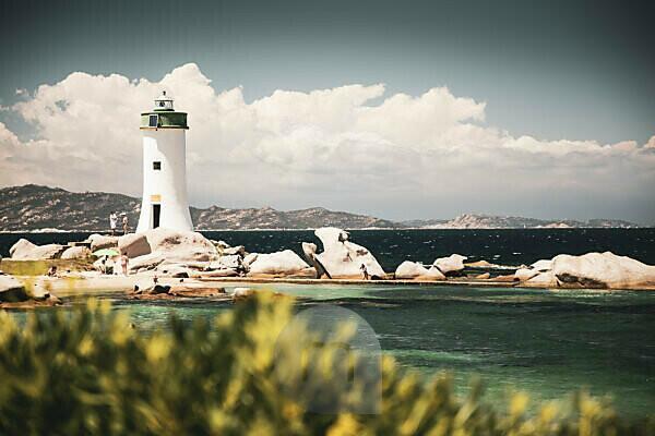 Lighthouse near Palau, Sardinia, Costa Smeralda