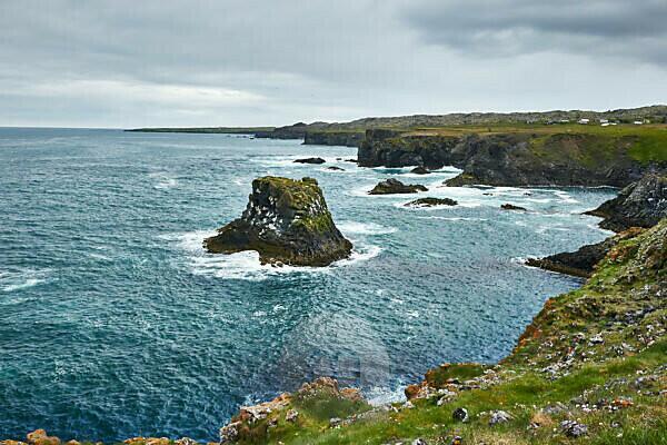 Westisland, Arnarstapi, Halbinsel Snaefellsnes, Felsformationen