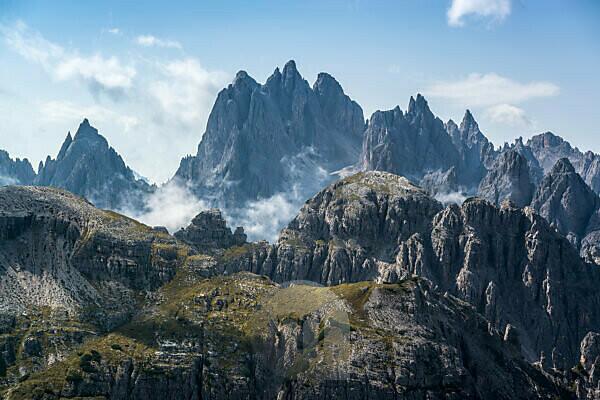 Three Peaks Nature Park, Dolomites, South Tyrol, Italy