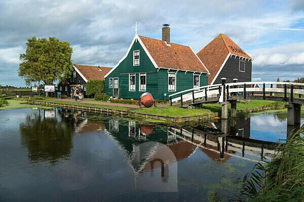 Alte Käserei, Zaanse Schans, Gemeinde Zaanstad, Holland, Niederlande