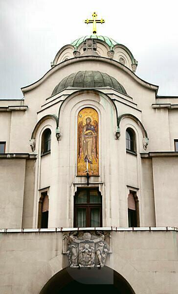 Church, architecture, Belgrade, Serbia