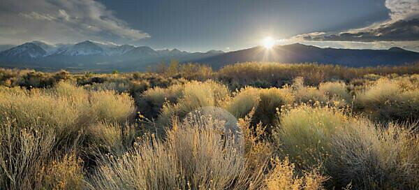 Owens River Valley, Sierra Nevada, Kalifornien, USA