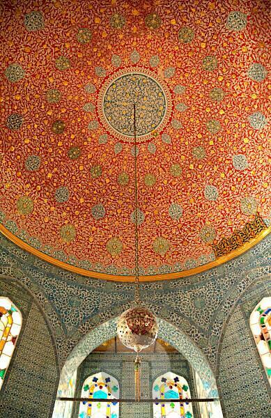 Architecture, mosaic, palace, Istanbul, Turkey