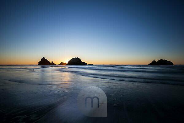 Sea Cliff Rocks, San Francisco, California, the USA