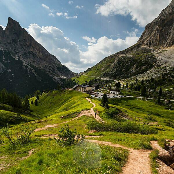 Europe, Italy, Alps, Dolomites, Mountains, Passo Falzarego