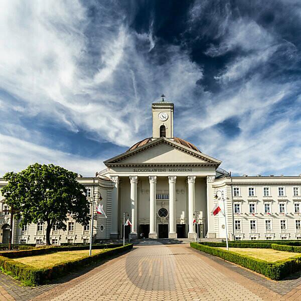 Europe, Poland, Kuyavian-Pomeranian Voivodeship, Bydgoszcz - St. Vincent de Paul Basilica Minor