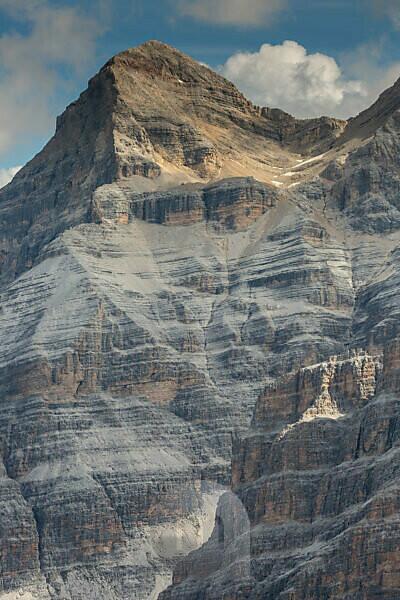 Europe, Italy, Alps, Dolomites, Mountains, View from Lagazuoi