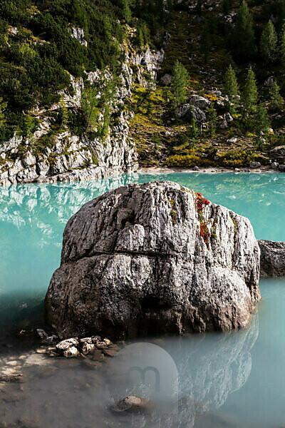 Europe, Italy, Alps, Dolomites, Mountains, Lago di Sorapiss