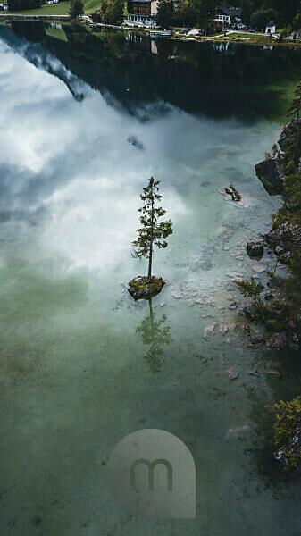 Germany, Bavaria, Berchtesgadener country, Hintersee