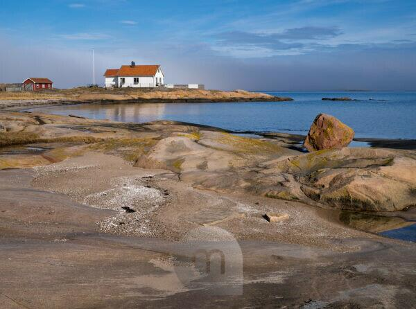 Sweden, Bohus, West coast, Kattegat, on the granite coast of Sotenäs
