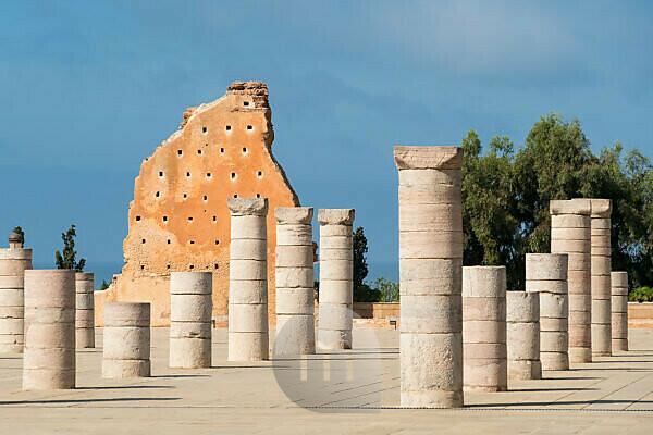 Marokko, Rabat, Mausoleum Mohamed V