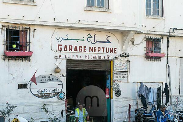 Marokko, Casablanca, Werkstatt