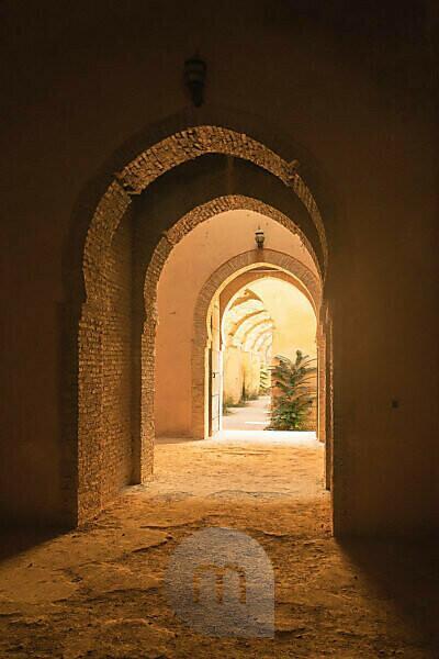 Marokko, Königsstadt Meknes, Ville Imperiale, Heri Souni (ehemalige Getreidespeicher)