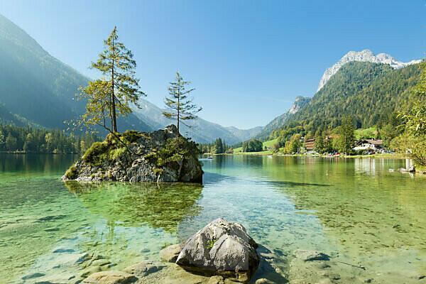 Berchtesgaden, Alps, Hintersee, Mühlsturzhorn