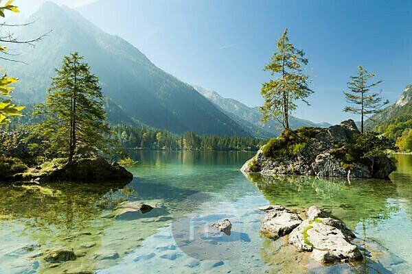 Berchtesgaden, Alps, Hintersee, Hochkalter