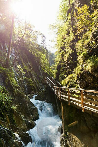 Berchtesgaden, Alpen, Wimbachklamm, Ramsau