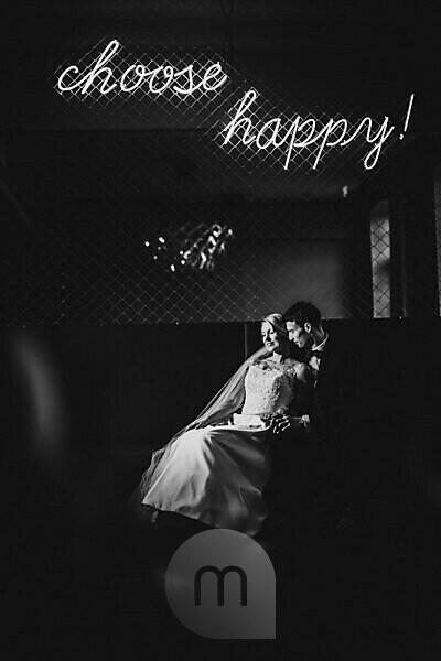Newlyweds, happy, in love
