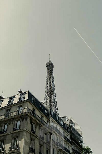Avenue de la Bourdonnais with Eiffel Tower