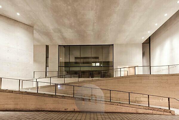 Museum, Georg Schäfer, Facade, Architecture, Evening, Schweinfurt, Franconia, Bavaria, Germany, Europe