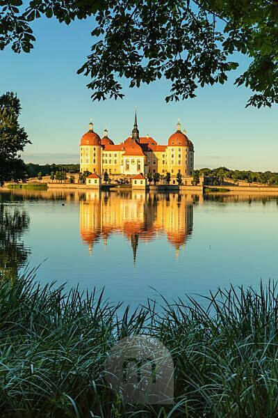 Castle Moritzburg, Saxony, Germany,