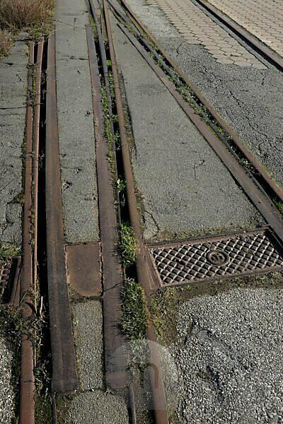 stillgelegte Gleise