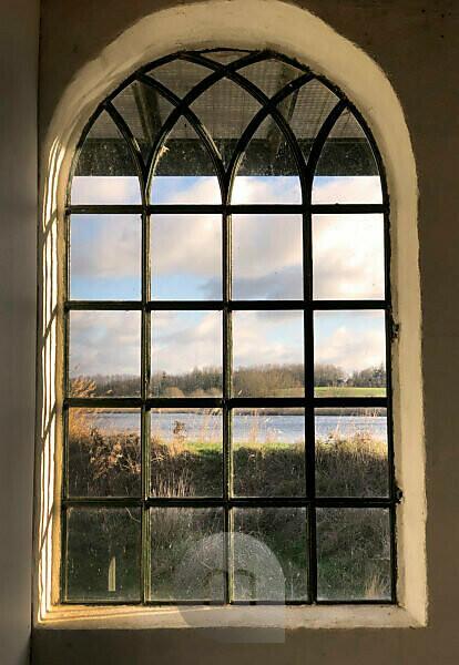 House, Window, When, Alsen, Island, Denmark