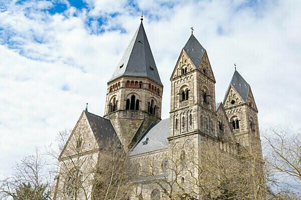 Frankreich, Lothringen, Metz, Blickauf die Temple Neuf.