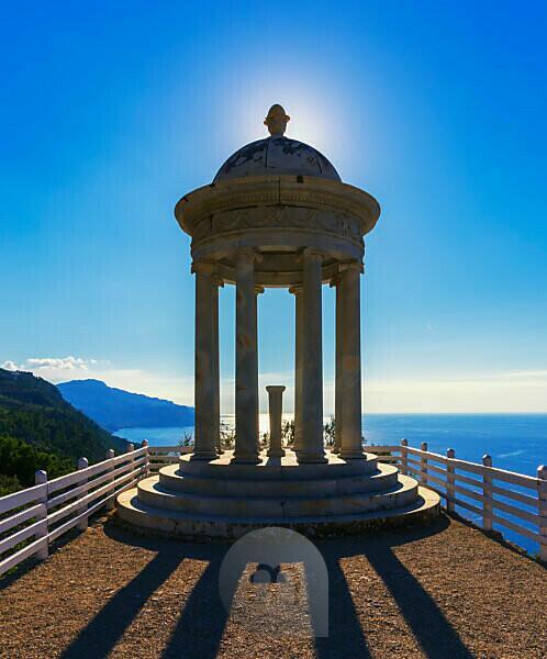 Son Marroig Mansion, Deia, Mallorca, Balearen, Spanien, Europa