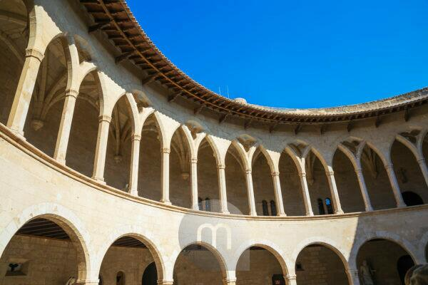 Schloss Bellver, Palma de Mallorca, Mallorca, Balearen, Spanien, Europa
