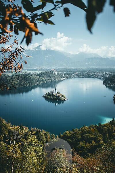 Slovenia, Bled, Lake Bled