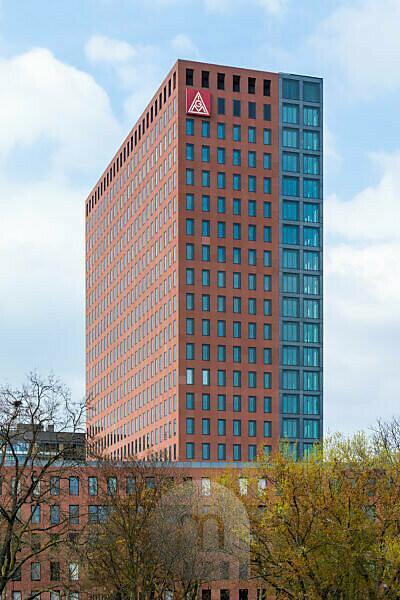 Germany, Hesse, Frankfurt, skyscraper of IG Metall.