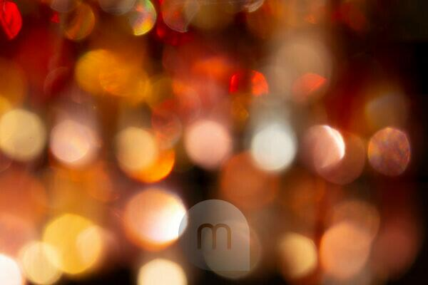 Blurred lights of a pearl light