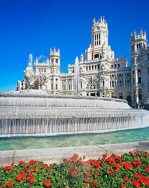 Plaza Cibeles, Madrid, Spain, Europe