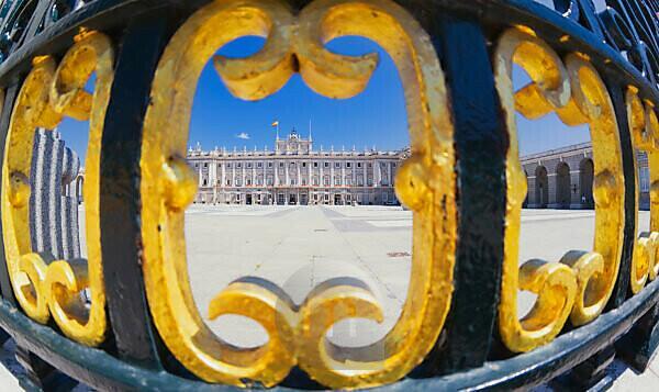 Royal Palace, Madrid, Spain, Europe
