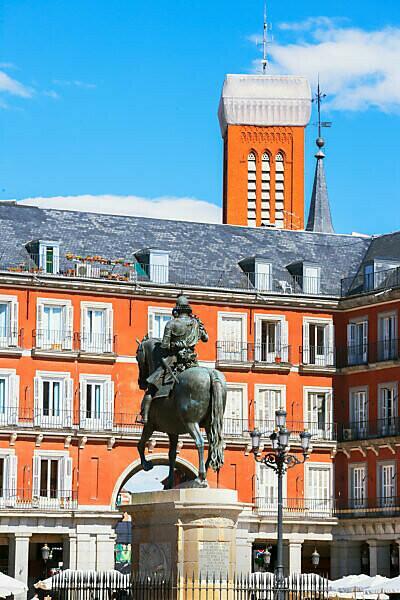 Mayor square, Madrid, Spain, Europe