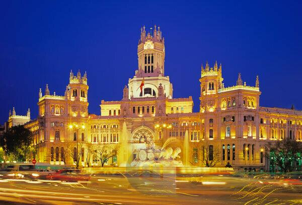 Plaza de Cibeles, Madrid, Spain, Europe