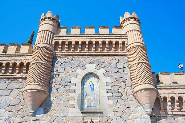 The Alcazar, Toledo, Castilla La Mancha, Spain