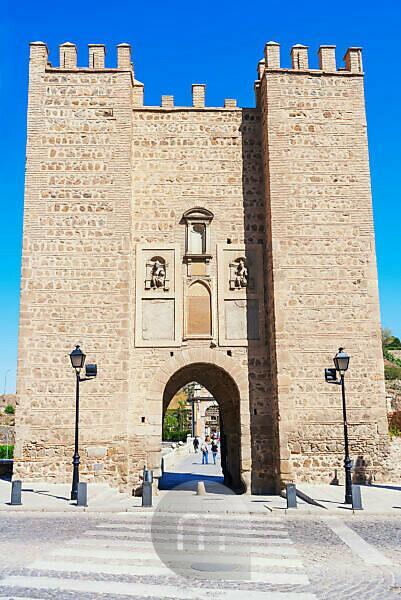 Alcantara bridge, Toledo, Castilla La Mancha, Spain