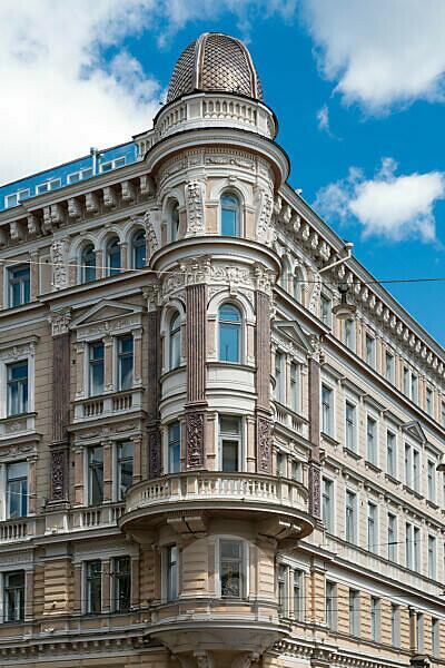 Helsinki, Altstadt, Jugendstilfassaden
