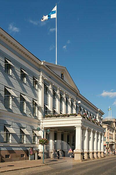 Helsinki, Altstadt, Präsidentenpalais, früheres Zarenpalais